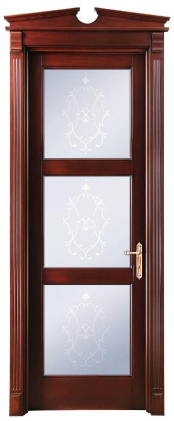 межкомнатные двери беленый дуб Милена