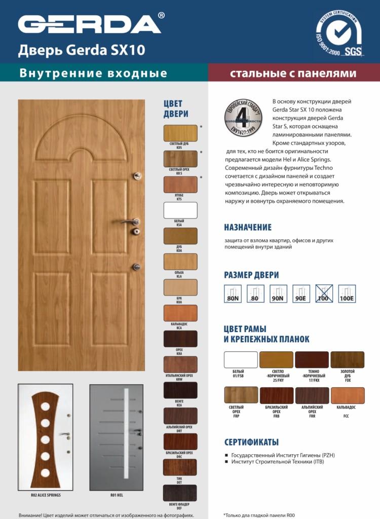 Двери ГЕРДА, GERDA польские металлические двери купить в Минске ... | 1024x750