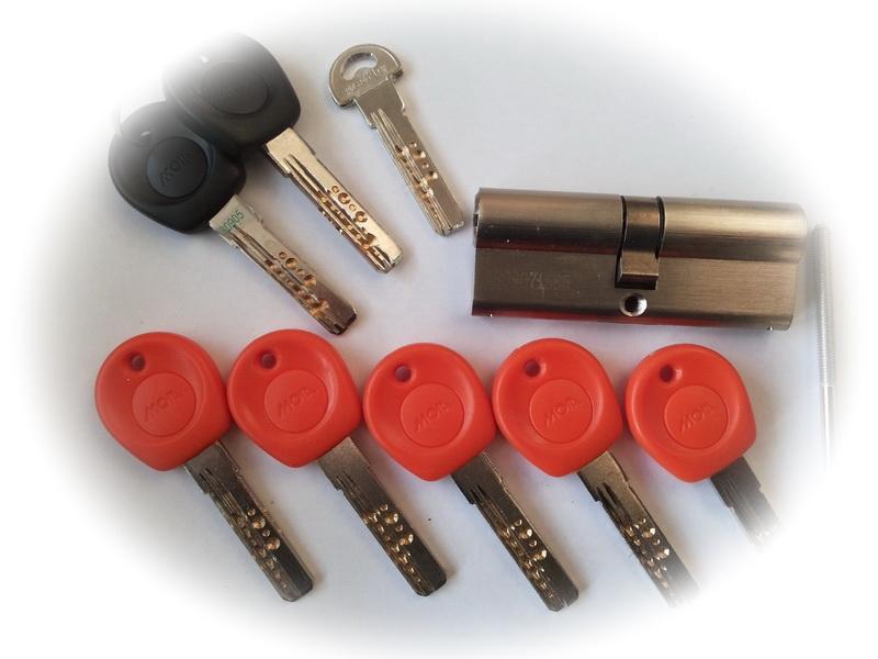 Купить комплект ключей с перекодировкой cisa
