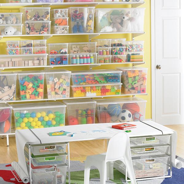 Где хранить игрушки детские